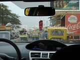 Traffic in Mancora